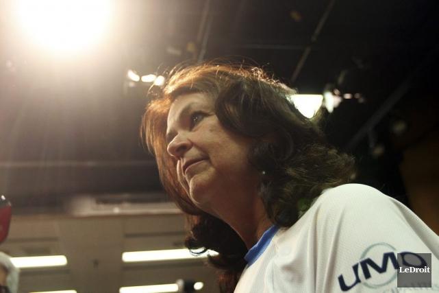 La mairesse de Sainte-Julie etprésidente de l'Union des... (PHOTO ÉTIENNE RANGER, LEDROIT)