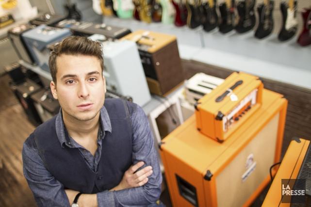 Son premier album, Bobby Bazini l'a voulu country-rock,... (PHOTO OLIVIER PONTBRIAND, LA PRESSE)