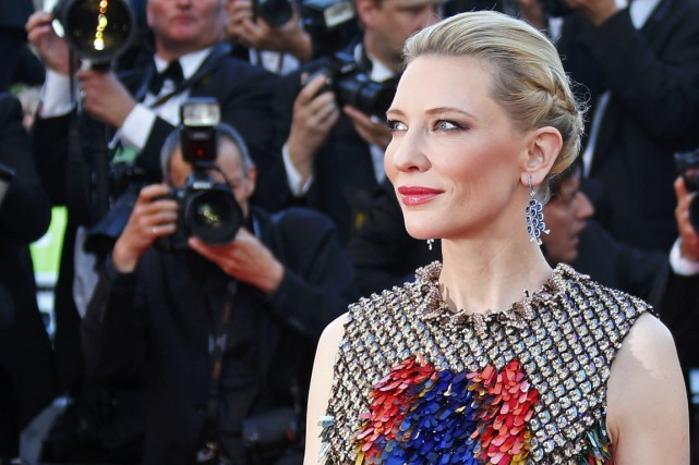 Cate Blanchett... (Photo YVES HERMAN, REUTERS)