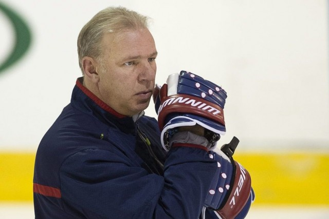 Therrien a expliqué que les Rangers ont transgressé... (PHOTO RYAN REMIORZ, ARCHIVES PC)