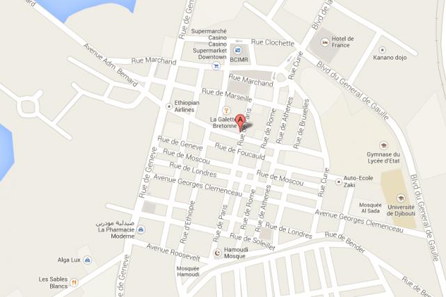 Deux explosions ont retenti devant l'établissement La Chaumière,... (Photo Google Maps)