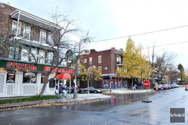 Une vue de la 3e Avenue dans Limoilou... (Photothèque Le Soleil)