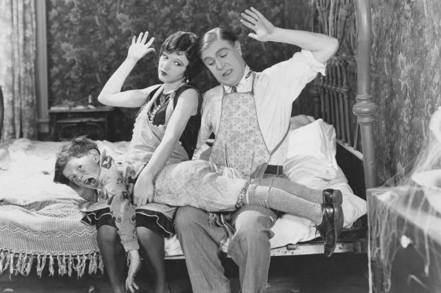 Wallace Lupino (le père), Betty Boyd (la mère)... (PHOTO FOURNIE PAR Bettmann/CORBIS/MAGMA)