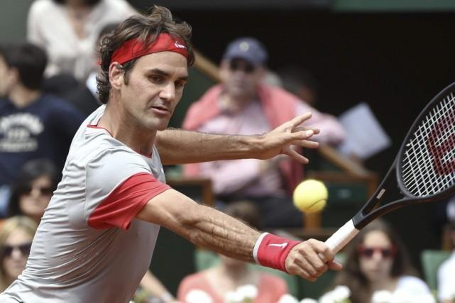 Roger Federer... (PASCAL GUYOT, AFP)