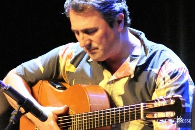 Luc Fortin, président de la Guilde des musiciens... (Photo La Presse)