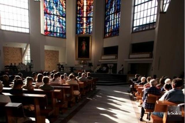Un appel à l'interruption des dons versés à l'Église catholique a été lancé,... (Photothèque Le Soleil)