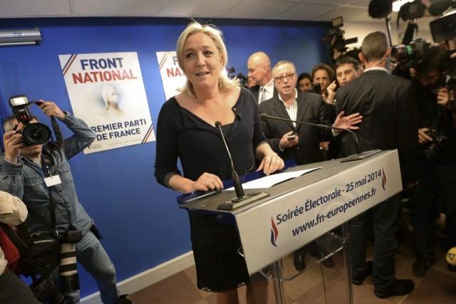 Le FN de Marine Le Pen a bénéficié... (Pierre Andrieu, AFP)