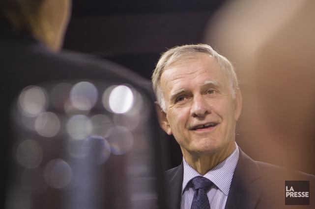 L'ancien candidat à la mairie de Montréal, Marcel... (Photo Olivier Pontbriand, La Presse)