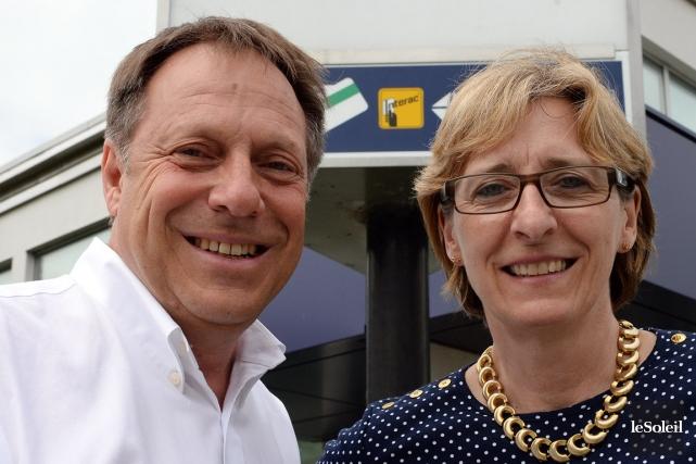 Christian Carrier et Mona Laflamme, fondateurs de ProSanté.... (Photo Érick Labbé, Le Soleil)