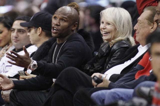 ShellySterling en compagnie de son mari et du... (Archives Reuters)
