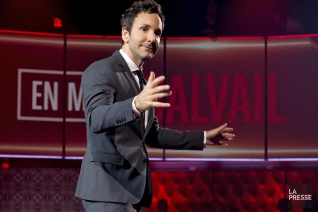 En mode Salvail a ravivé l'intérêt des téléspectateurs... (Photo: Alain Roberge, archives La Presse)