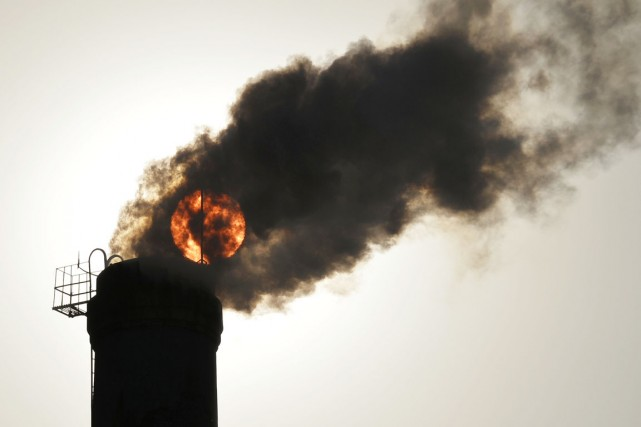 À l'échelle du globe, la concentration de CO2... (PHOTO ARCHIVES REUTERS/STRINGER)
