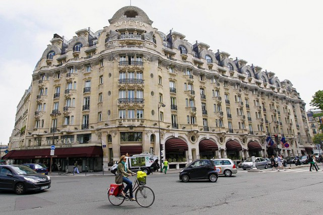 L'hôtel Lutetia à Paris.... (PHOTO ARCHIVES AFP)