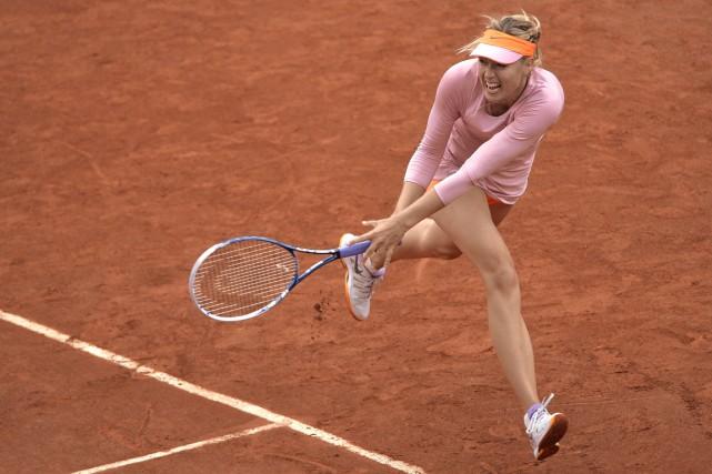Maria Sharapova disputera aujourd'hui sa 18e demi-finale d'un... (Photo Miguel Medina, AFP)
