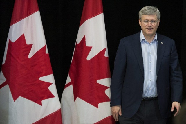 Le premier ministre Stephen Harper.... (PHOTO ANDREW VAUGHAN, PC)
