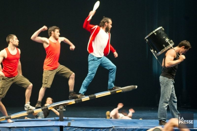 L'École nationale de cirque de Montréal (ENC) participera à l'événement... (Photo: Marco Campanozzi, La Presse)