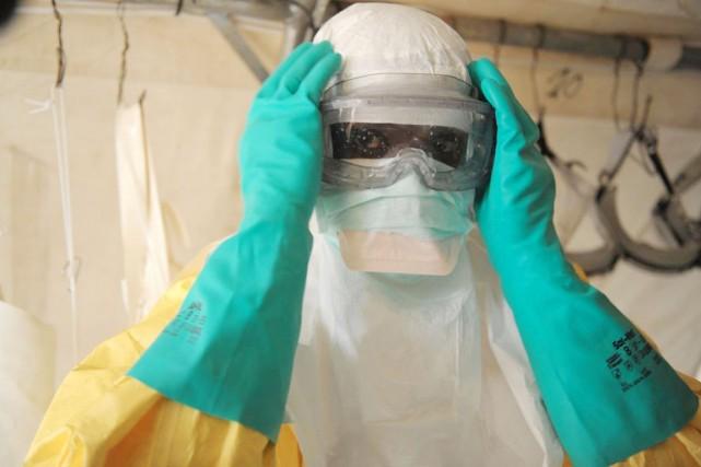L'épidémie de fièvre hémorragique en grande partie due au virus Ebola a fait... (PHOTO ARCHIVES MAP INTERNATIONAL)
