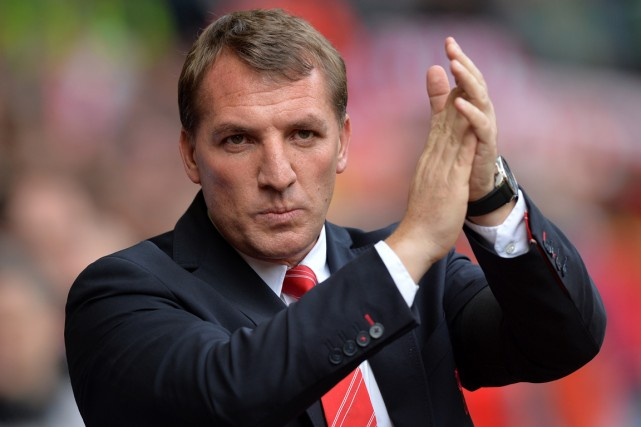 L'entraîneur-chef de Liverpool, Brendan Rodgers.... (Photo Paul Ellis, AFP)