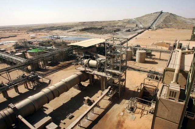 L'uranium représentait plus de 70% des exportations du... (Photo PIERRE VERDY, AFP)