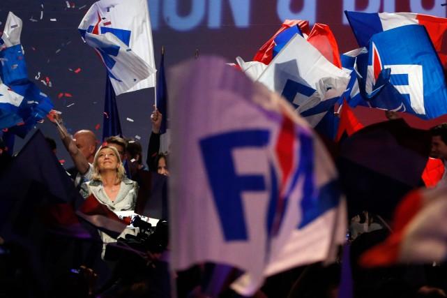 Ces élections qui consacrent le Front national de... (Photo Agence France-Presse)