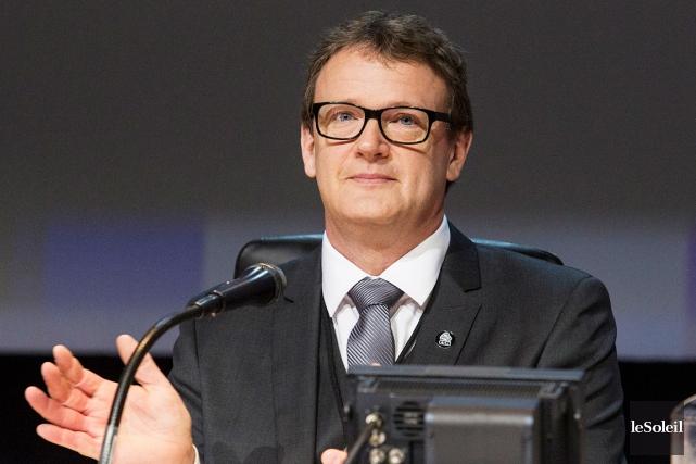 Le président de la CSN Jacques Létourneau... (Photothèque Le Soleil, Caroline Grégoire)