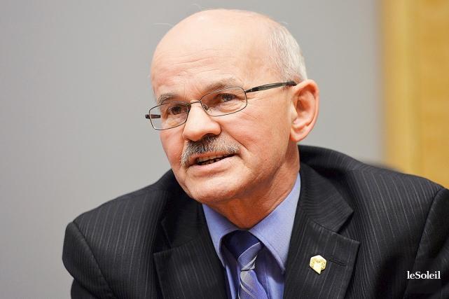 Richard Lehoux, président de la FMQ, maire de... (PHOTO PATRICE LAROCHE, ARCHIVES LE SOLEIL)
