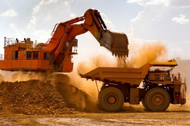 «Les temps ont été difficiles pour les minières... (Photo archives Bloomberg)