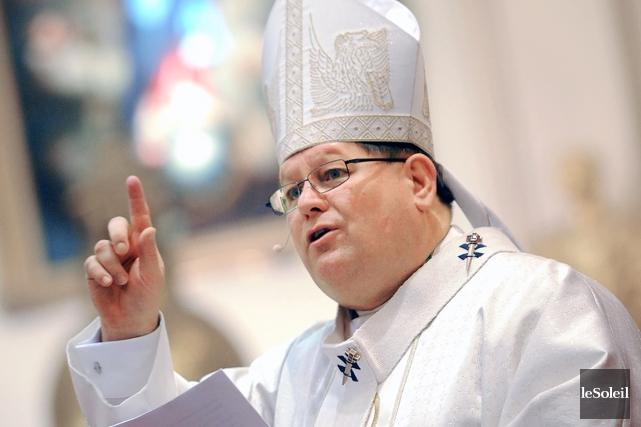 Mgr Gérald Cyprien Lacroix... (Photothèque Le Soleil)