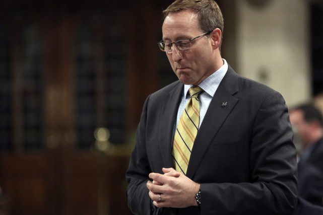 Peter MacKay, ministre de la Justice.... (Photo archives Reuters)