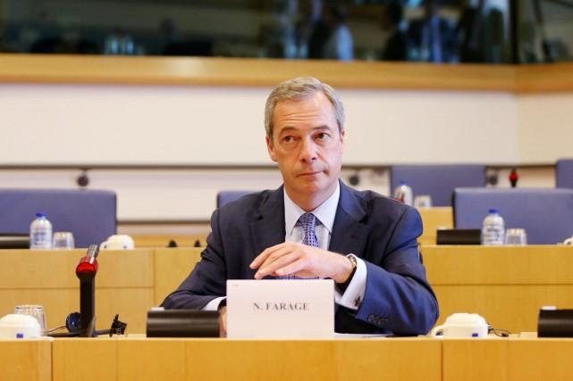Le chef de l'UKIP,Nigel Farage.... (PHOTO FRANÇOIS LENOIR, REUTERS)