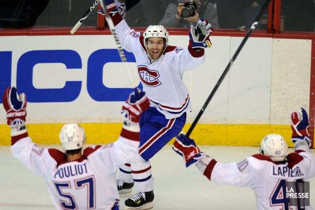 Le Canadien a comblé un déficit de 1-3... (Photo Nick Wass, archives AP)