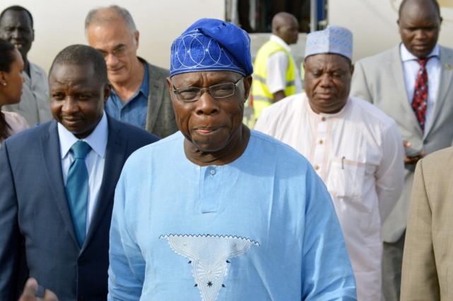 Olusegun Obasanjo, chef de l'État de 1999 à... (PHOTO SAMIR BOL,. ARCHIVES AFP)