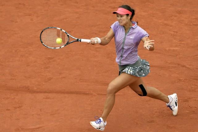 La numéro 2 mondiale Li Na, championne à... (Photo Miguel Medina, AFP)
