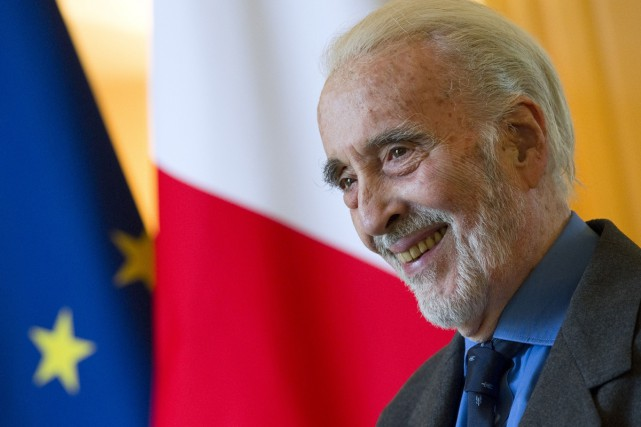 Christopher Lee... (PHOTO ARCHIVES AP)