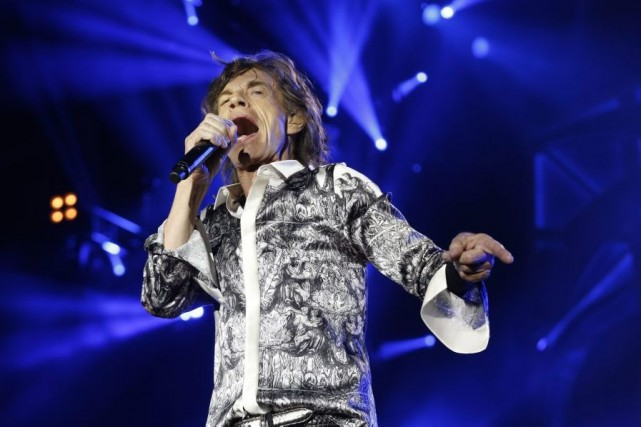 Mick Jagger lors du spectacle à l'aréna Telenor... (Photo: AP)