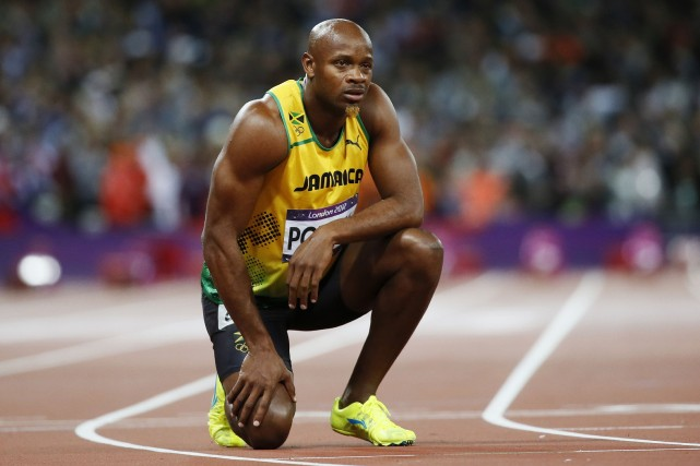 Asafa Powell... (Photo Lucy Nicholson, archives Reuters)