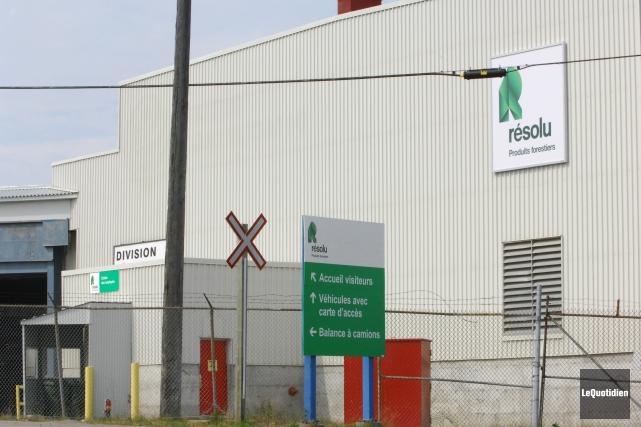 L'usine Kénogami... (Archives Le Quotidien)