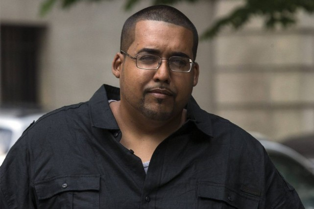 De son vrai nom Hector Xavier Monsegur, «Sabu»,... (PHOTO BRENDAN MCDERMID, REUTERS)