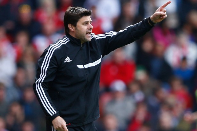 Mauricio Pochettino... (Photo Eddie Keogh, Reuters)