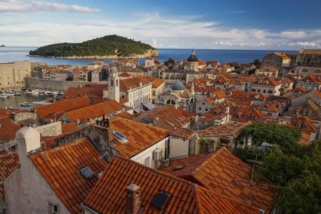 L'une des plus belles vues de Dubrovnik, sur... (Photo Pierre-Olivier Fortin, collaboration spéciale)