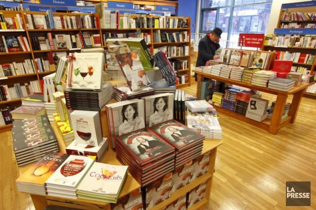 La chaîne a fermé cet automne sa librairie... (Photo Robert Skinner, Archives La Presse)