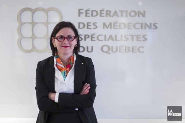 La présidente de la FMSQ, Diane Francoeur.... (Photo: Olivier Pontbriand, archives La Presse)