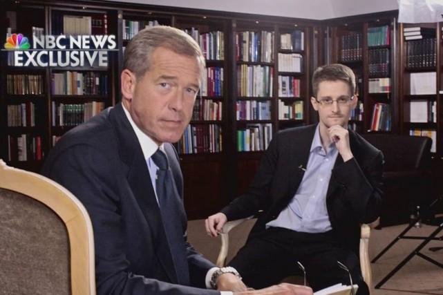 Le présentateur du NBC Nightly News Brian Williams... (Photo Reuters)