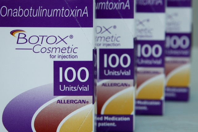 Allergan est le fabricant américain du traitement antirides... (PHOTO ARCHIVES BLOOMBERG)