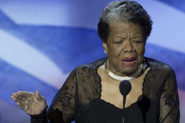 Maya Angelou en 2004.... (Photo: archives AFP)
