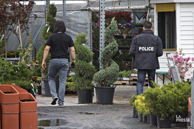 Une opération antidrogue a lieu mercredi matin dans... (Photo Patrick Sanfaçon, La Presse)