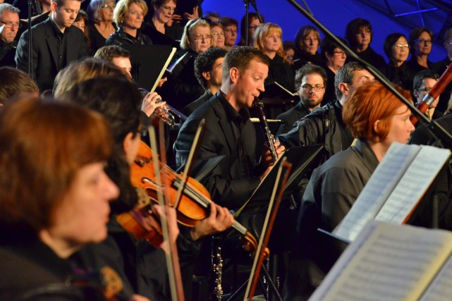 Le festival Classica de Saint-Lambert. Le mot d'ordre... (Photo: Étienne Côté-Cazabon, fournie par le festival Classica)
