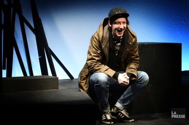 Le travail du comédien Emmanuel Schwartz inspire le... (Photo: Bernard Brault, La Presse)