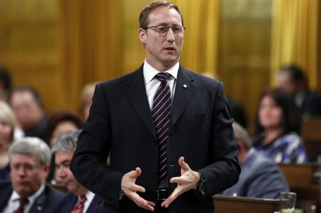 Le ministre de la Justice, Peter MacKay.... (Photo Chris Wattie, Reuters)