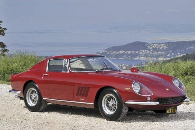 Ferrari 275 GTB/4 1967 ayant appartenu à l'acteur... (Photo fournie par RM Auctions)